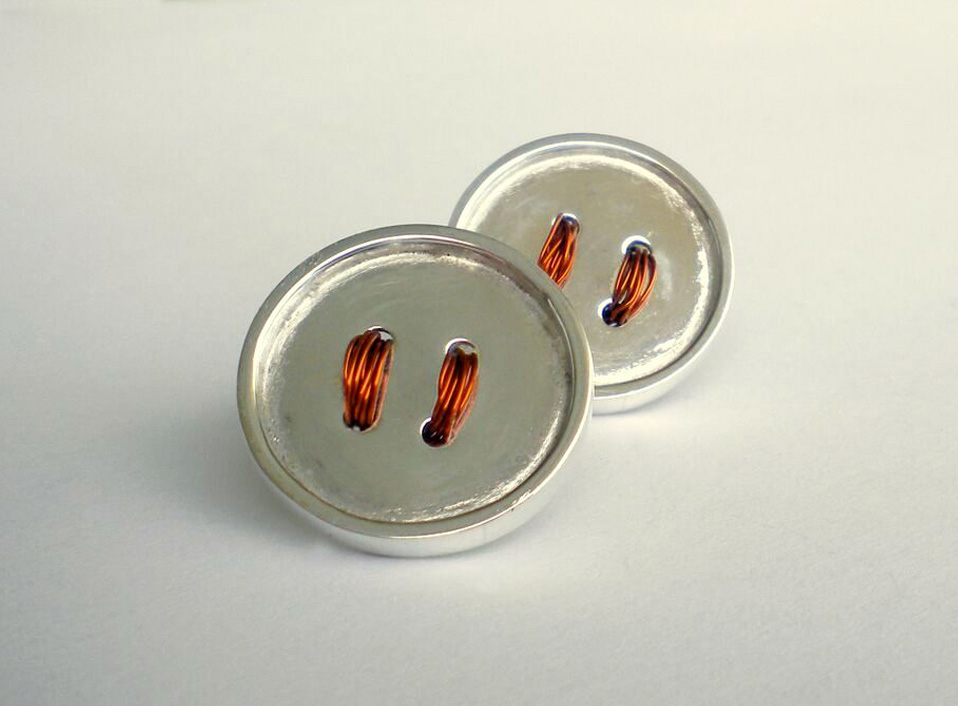 - 27 -Plata 950 con hilos de cobre